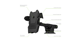 Onetto Car&Desk Mount Easy One Touch 2 Держатель на торпеду (GP10&SM5), фото 2