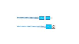 Кабель Lightning + Micro USB MoMax Elite Link 2 in 1 MFi 100cm, фото 3