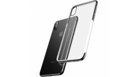 Чехол Baseus Shining Case For iP XS MAX (черный), фото 1