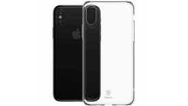 Чехол Baseus Simple Series Anti-Fall для Apple iPhone X/XS (прозрачный), фото 1