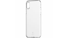 Чехол Baseus Simple Series Case With Pluggy дляiPhone X/XS (прозрачный), фото 1