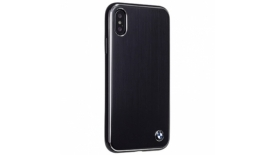 Чехол накладка CG Mobile BMW Signature Brushed Aluminium для Apple iPhone X черный, фото 1