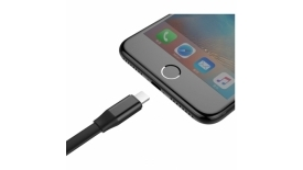 Кабель Lightning + Micro USB Baseus Two-in-one Portable 120cm (черный), фото 3