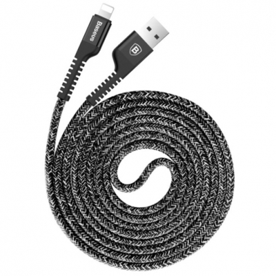 Кабель Baseus Confidant Anti-break cable 100cm Lightning, фото 1