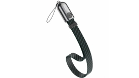 Кабель Lightning Baseus Gold Collar lanyard Data 35cm (черный), фото 1