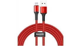 Кабель Lightning Baseus Halo Data Cable 1.5A 200cm (красный), фото 1