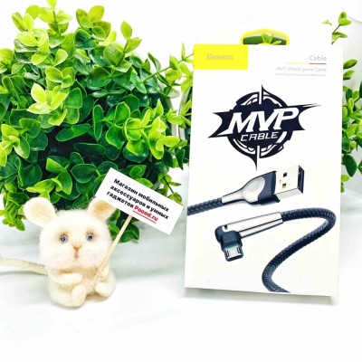 Кабель Baseus MVP Elbow Mobile Game сable 100cm micro USB, фото 8