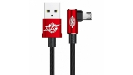 Кабель micro USB Baseus MVP Elbow Type Cable100cm (красный), фото 1
