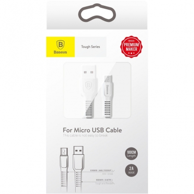 Кабель Baseus Tough Series 100cm micro USB, фото 6