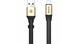 Кабель Lightning + Micro USB Baseus Two-in-one Portable Cable 0.23m (золотой), фото 3