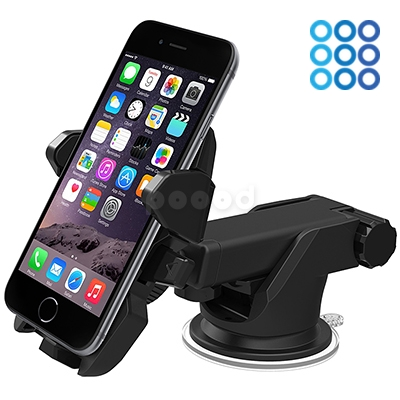 Держатель Onetto CarDesk Mount Easy One Touch 2 на торпеду/стекло (черный) фото