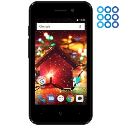 Смартфон Digma HIT Q401 3G 1/8Gb (черный) фото