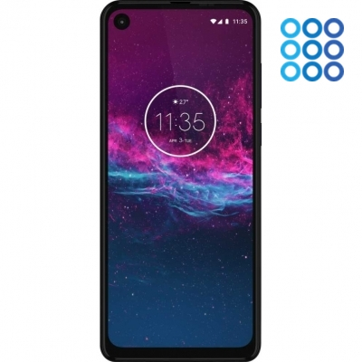 Смартфон Motorola One Action XT2013-2 128Gb 4Gb (синий) фото