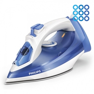 Утюг Philips PowerLife (белый) фото