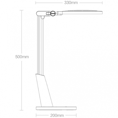 Настольная лампа Yeelight Xiaomi LED Eye-Caring Desk Lamp, фото 10