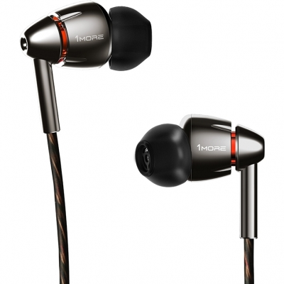 Наушники 1MORE E1010 Quad Driver In-Ear Headphones (черный), фото 1