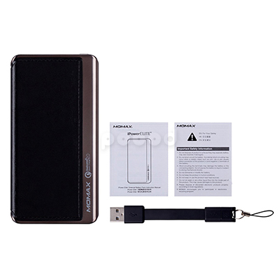 Внешний аккумулятор MoMax iPower Elite Plus External Battery 8000 mAh, фото 2