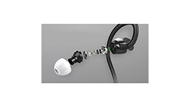 Наушники стерео Rock Zircon Sport Stereo Earphone, фото 3