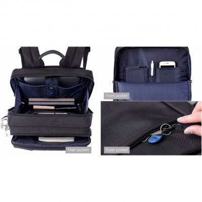 Рюкзак 90 Points Xiaomi Classic Business Backpack космос, фото 9