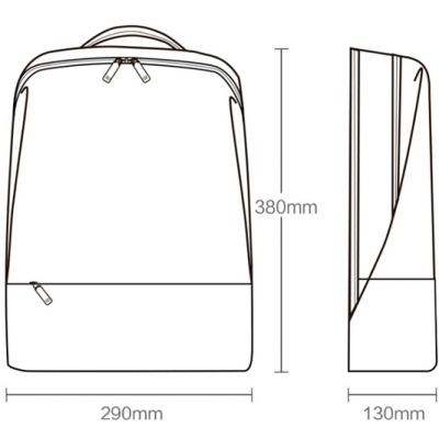 Рюкзак 90 Points Xiaomi Urban Simple Backpack, фото 10