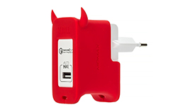 MoMax U.Bull 1-port USB Charger 2.4A/18W (Quick Charge 2.0) Сетевой блок питания (UM1S), фото 2