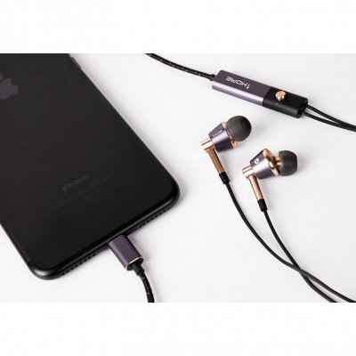 Lightning-наушники 1MORE E1001L Triple Driver LTNG In-Ear Headphones(w), фото 14