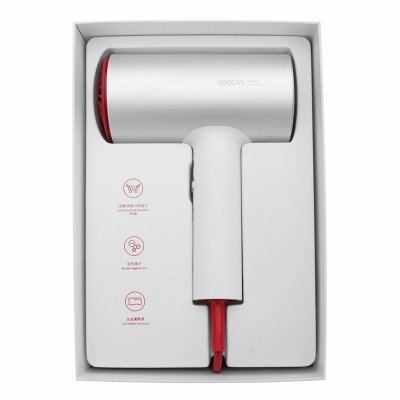 Фен Xiaomi Soocas Hair Dryer H3S (Global) (белый), фото 21