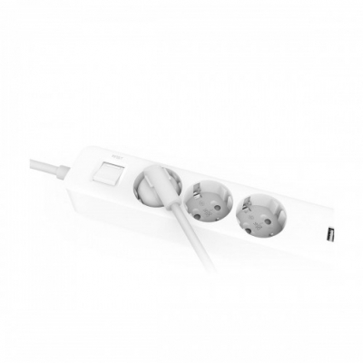 Удлинитель Xiaomi Mi Power Strip 3 розетки, 3 USB (Global) (XMCXB04QM), фото 5