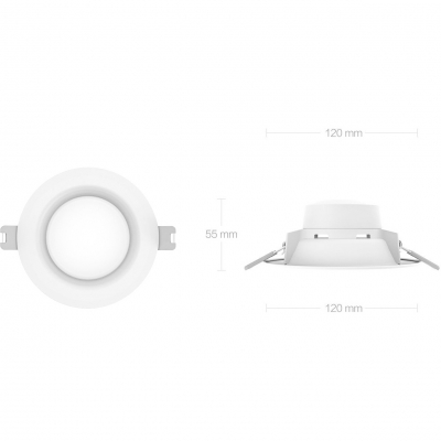 Встраиваемый светильник Yeelight Xiaomi Round LED Ceiling Embedded Light, фото 2
